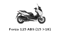 Forza 125 ABS (15 >18)