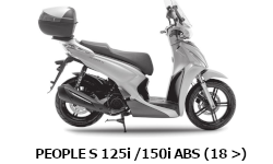 People S125i/150i ABS (18 >)