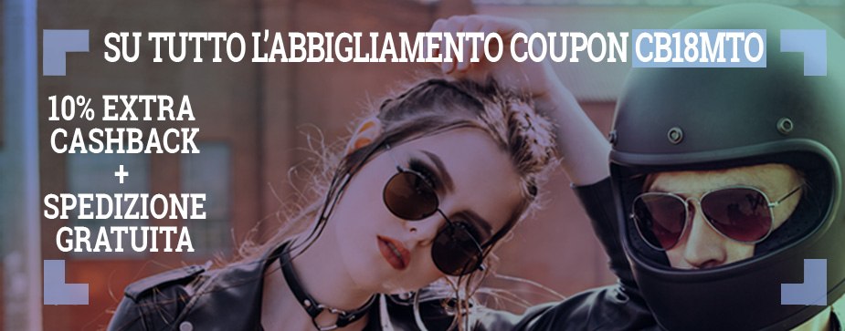 byker boy & girl to let you know cashback 10% sconto extra su tutto l'abbigliamento