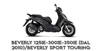 Beverly 125ie-300ie-350ie (Dal 2010)/Beverly Sport Touring