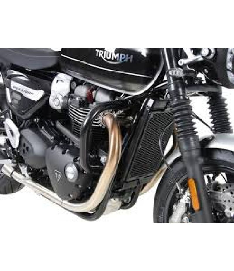 5017591 00 01 Hepco Becker Paramotore nero per Triumph Speed ​​Twin (2019-)