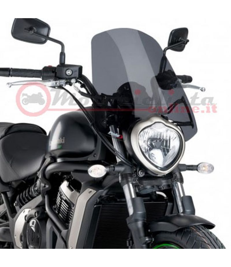 8164 Cupolino Puig Racing Naked New Generation Touring Kawasaki Vulcan S 2015> Fumé Scuro