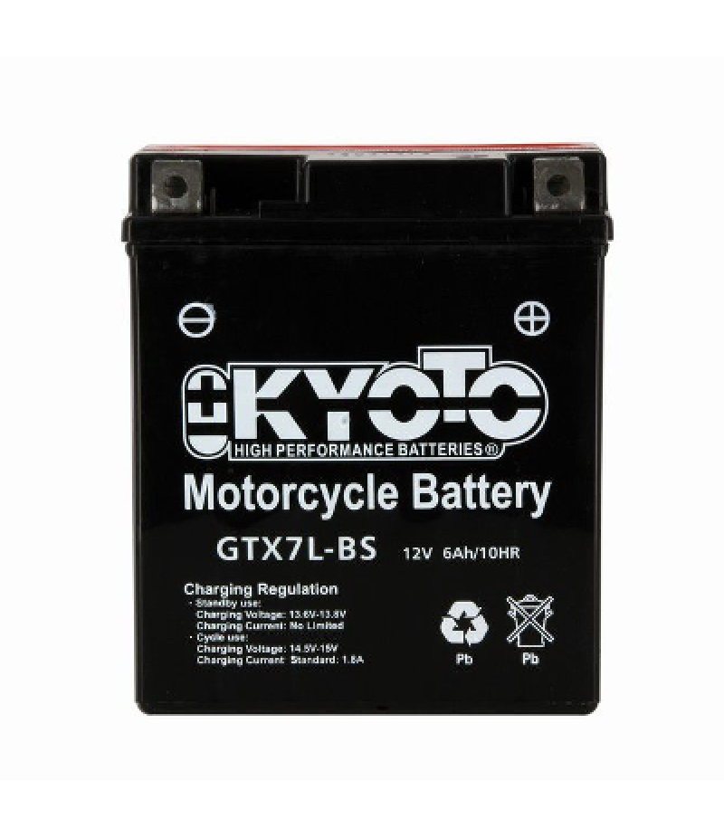 Batteria scooter piombo-acido 12V Kyoto YTX7L-BS