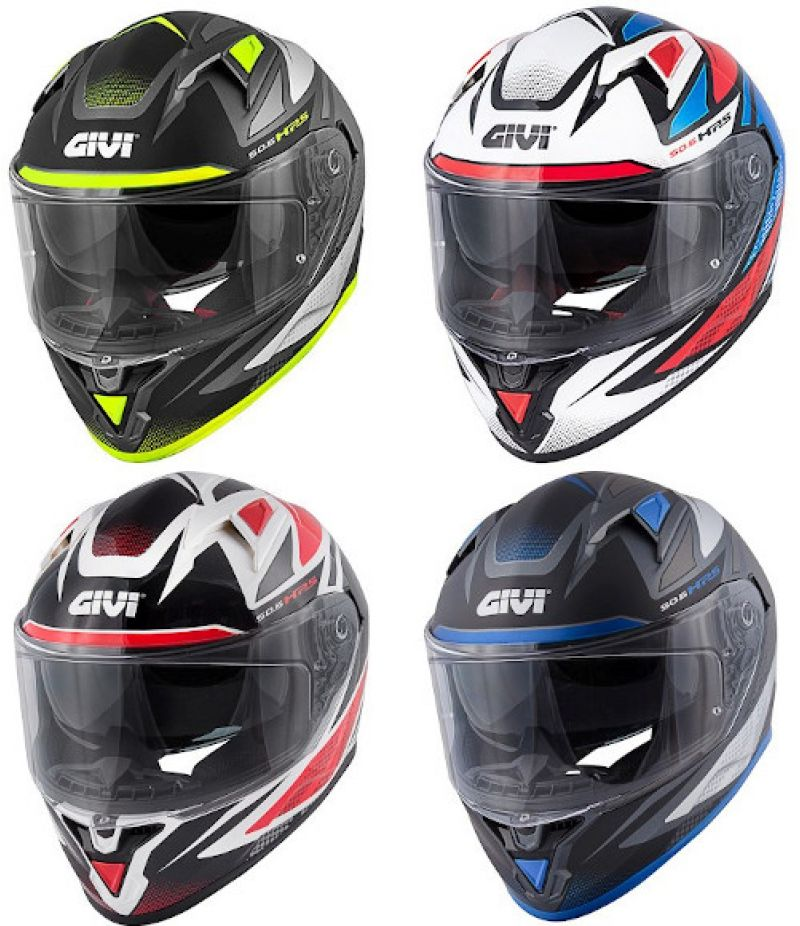 Givi 50.6 Stoccarda Follow Casco moto integrale con visierino