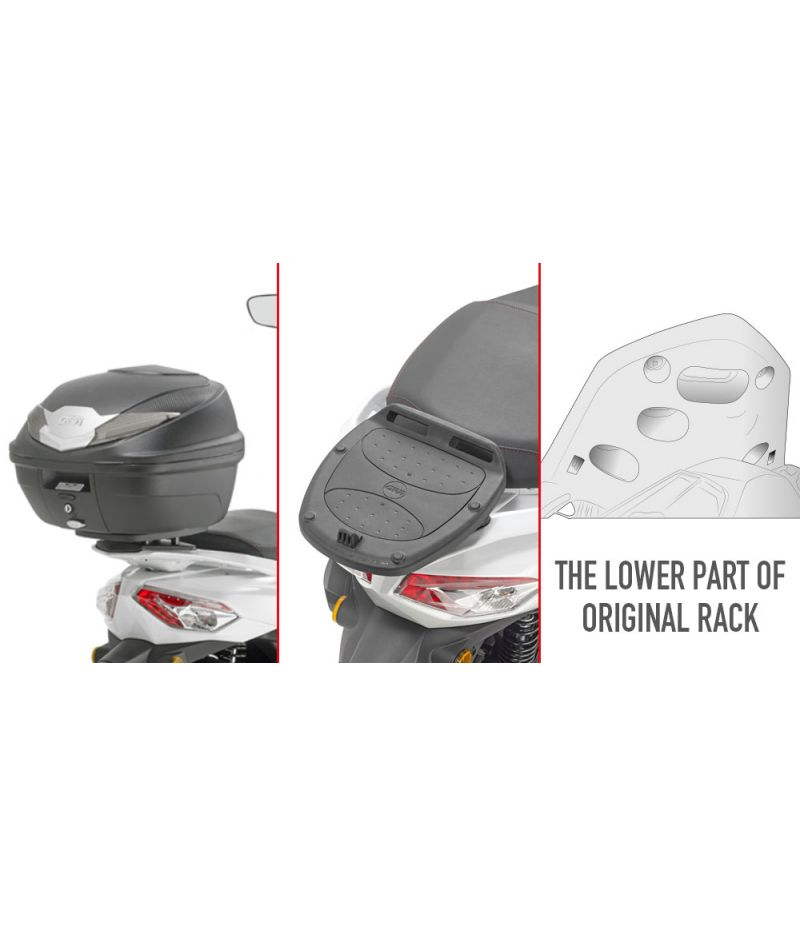 Givi SR7059 Attacco per bauletto Monolock specifico per SYM HD 300 (19)