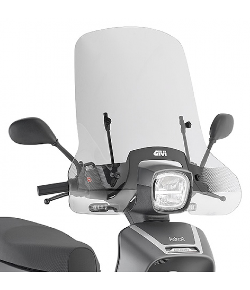 Parabrezza Givi 9031A per Askoll NGS1-NGS2–NGS3 Scooter elettrico