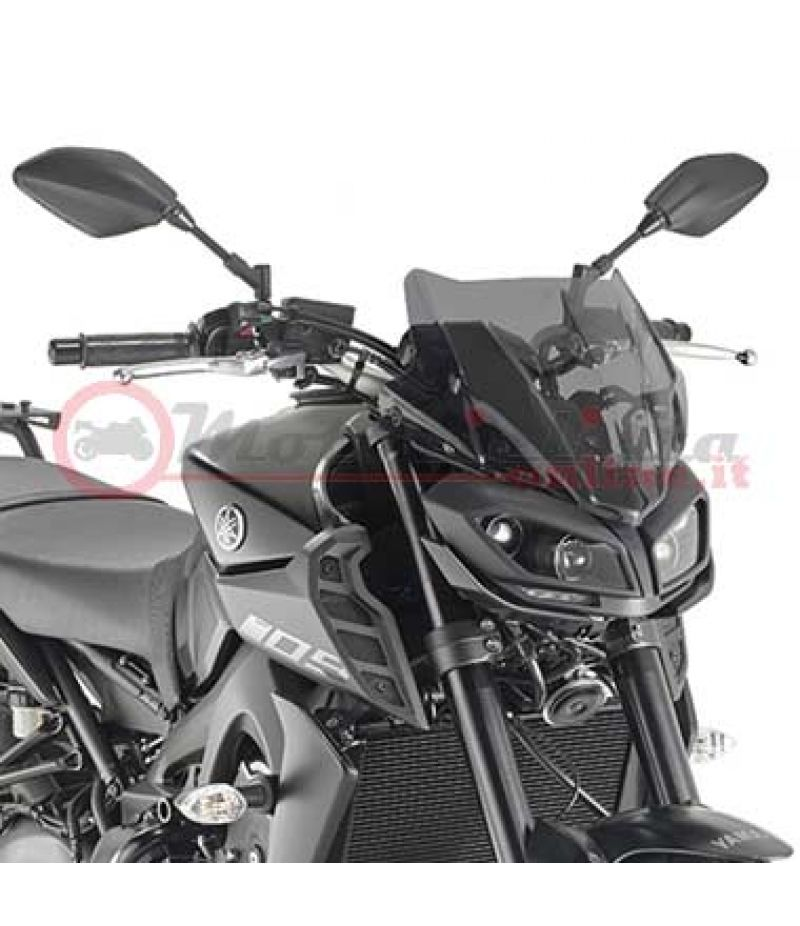 KA2132 Cupolino Kappa colore Fumé specifico per Yamaha MT-09 2017>