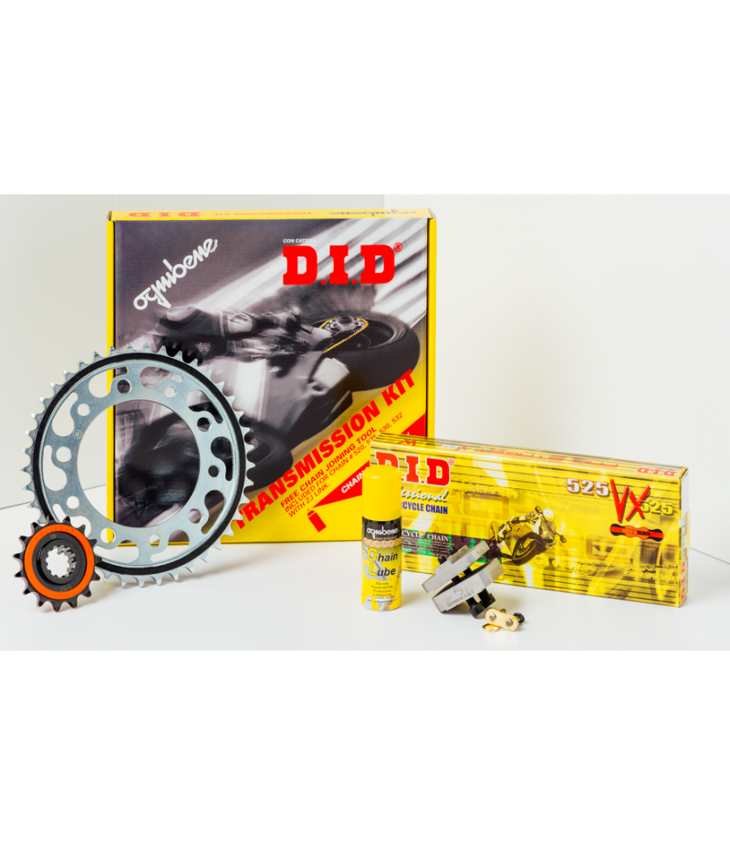 Kit trasmissione DID Premium (Originale) 376203000 Yamaha Tracer 900 GT dal 2018