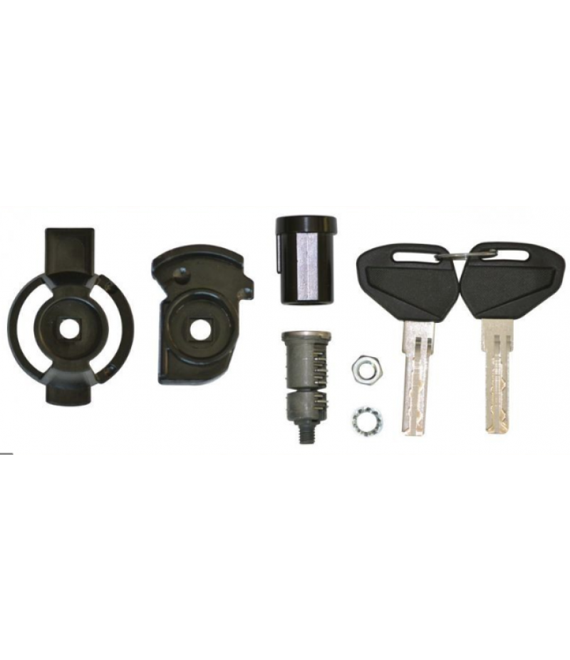 Kit serratura Kappa KSL101 chiave security lock per bauletti e valigie