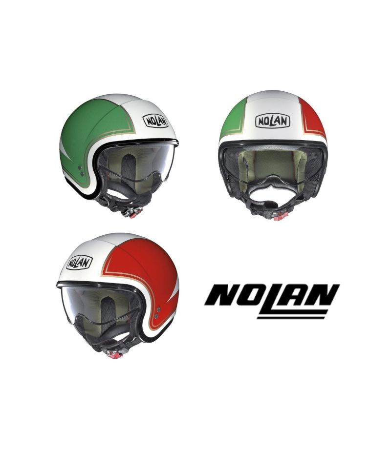 Casco Mini Jet Nolan N21 Tricolore