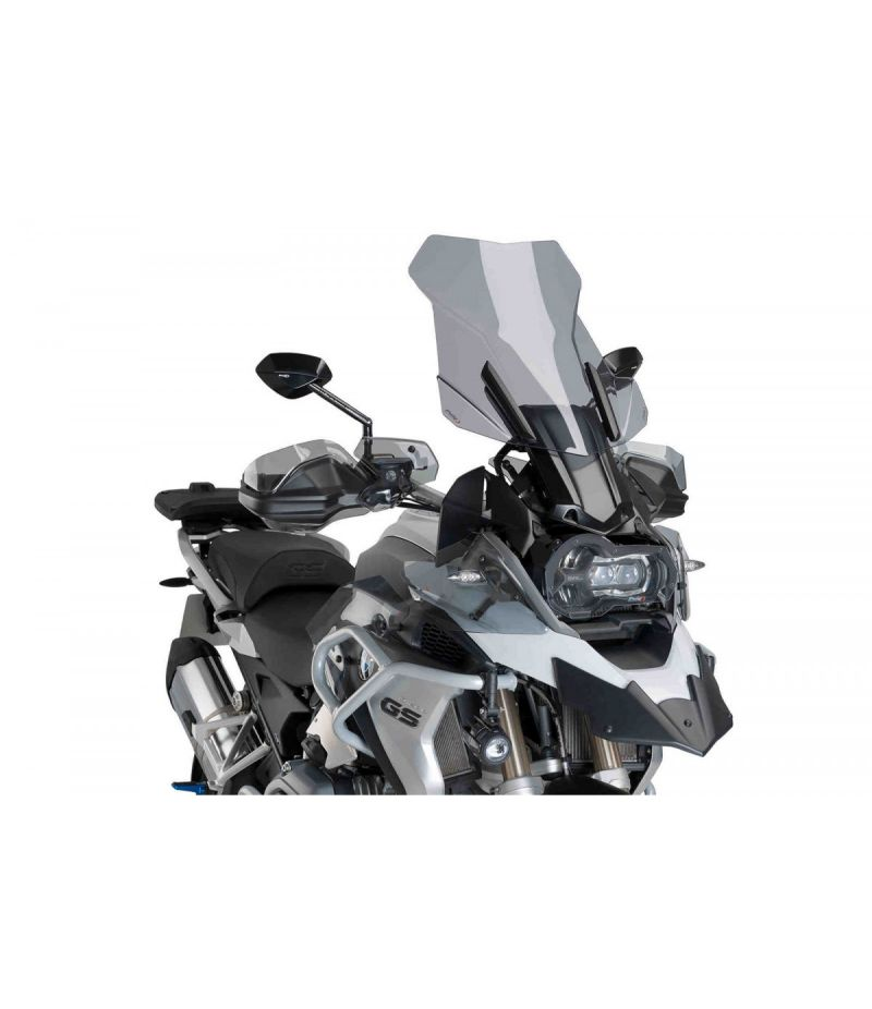 9718N Puig Supporto E.R.S. Cupolino BMW R1200 GS/EXCLUSIVE/RALLYE 13 -18 e BMW R1250 GS 18-19 Nero