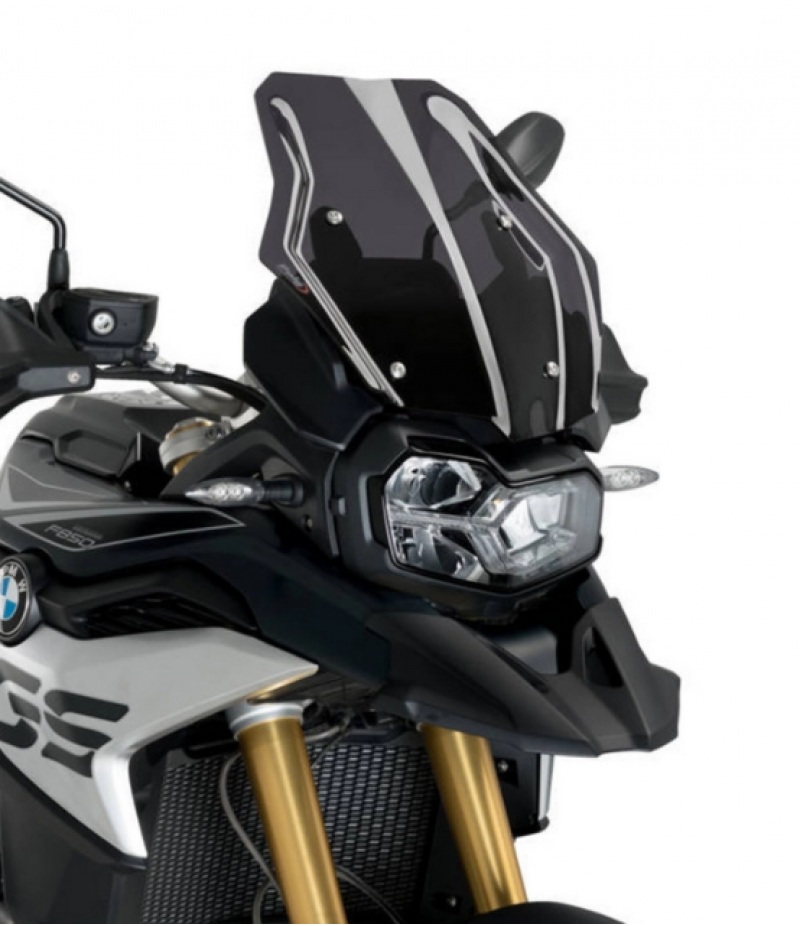 Puig 3769F Cupolino Touring BMW F750GS / F850GS / Adventure Fumé scuro