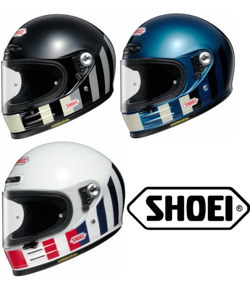 Shoei Glamster Casco integrale da moto linea vintage Resurrection