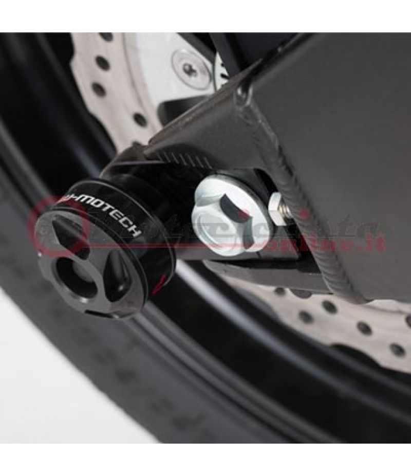 STP.08.176.10600/B SW-Motech Tamponi paracolpi forcellone posteriore per Kawasaki Versys 650 2015>
