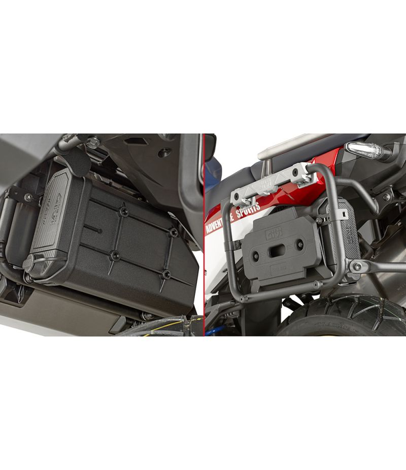 KTL1161KIT Kappa kit fissaggio Tool box S250 su CRF1000L Africa Twin Adventure Sports