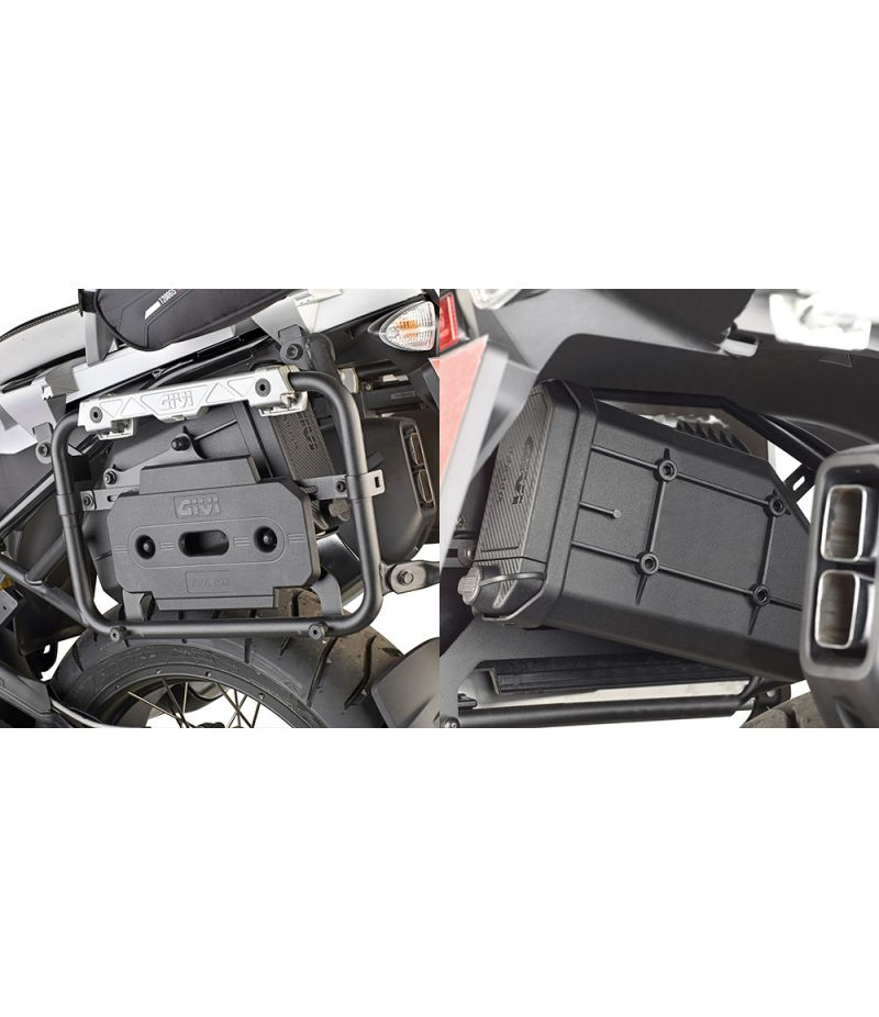 TL5108CAMKIT Kit montaggio S250 Toolbox per BMW R1200 GS Adventure 2014>